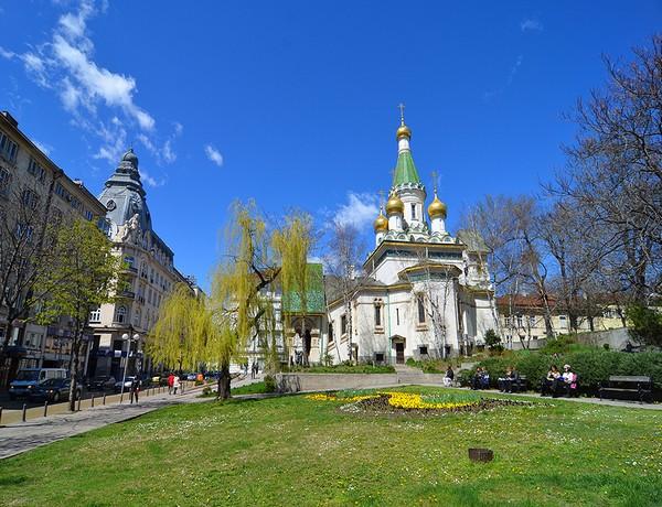 Картинки по запросу Русская посольская церковь в Софии