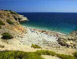 Галечный пляж в Пальме / Испания
