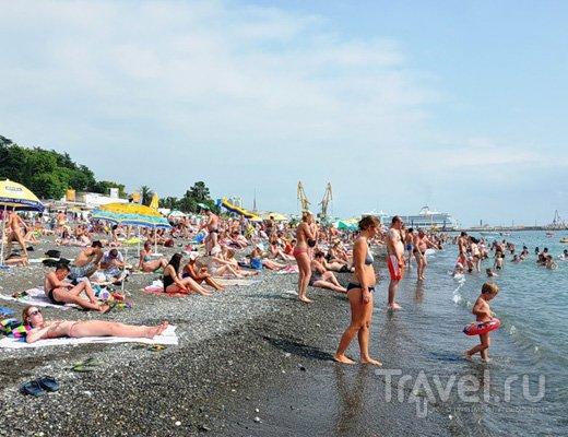 Дикий нудистский пляж Лазаревское и Солоники Отели рядом