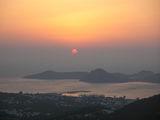 Закат над Ялыкаваком / Турция
