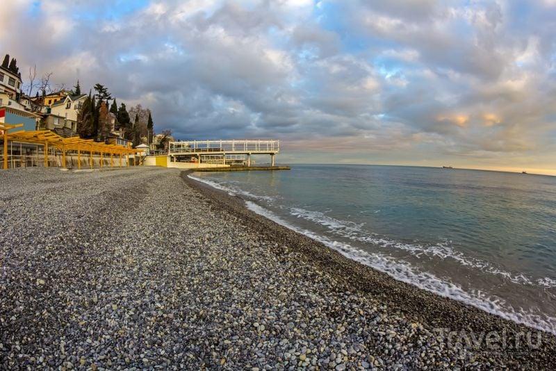 ялта фото пляжа и города 2016