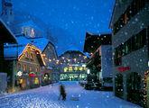 В Новогоднюю ночь / Фото из Австрии