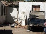 гостиничный дворик / Фото из Египта