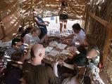перекус в оазисе / Фото из Египта