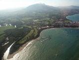 побережье Доминиканы с самолета / Фото из Доминиканской Республики