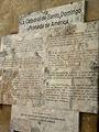 памятная доска на первом соборе / Фото из Доминиканской Республики