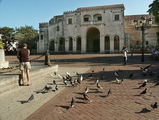 центральная площадь в колониальном квартале / Фото из Доминиканской Республики
