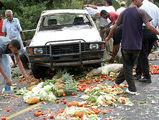 результаты автоаварии / Фото из Доминиканской Республики