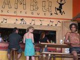 Бамбу-бар в Пуэрто-Бьехо / Колумбия