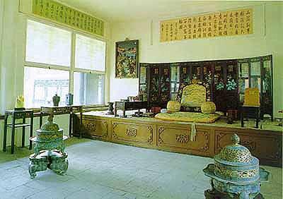 Летняя резиденция 'бишушаньчжуан' в городе Чэндэ ©Жэньминь Жибао