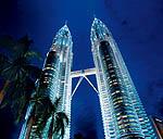 Современные небоскребы Малайзии
