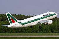 Airbus A319-112 / Италия