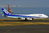 Boeing 747-400 / Япония