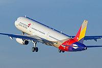 Airbus A321-231 / Южная Корея
