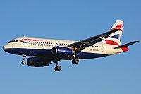 Airbus A319-131 / Великобритания
