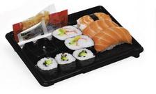 Питание экономического класса: суши / Исландия