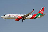 Boeing 737-8Q8 / Кения