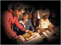 Обслуживание в салоне бизнес-класса / Кения