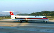 McDonnel Douglas MD82 / Италия