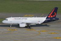 Airbus A319 / Бельгия