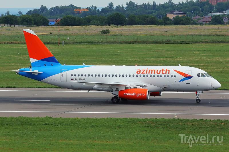 SSJ-100 авиакомпании Азимут / Россия