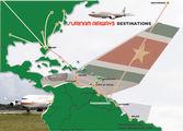 Карта маршрутов / Суринам
