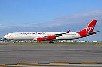 Airbus 340-300 / Великобритания
