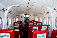 Салон самолета Britten-Norman BN-2 Islander / Бонайре, Саба и Синт-Эстатиус