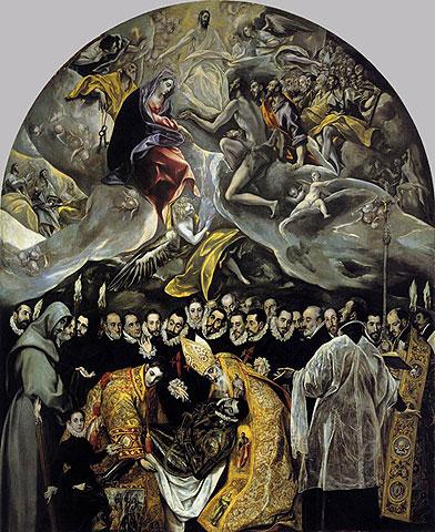 Толедо - 'Погребение графа Оргаса', Эль Греко