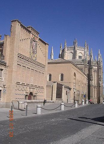 Толедо - монастырь San Juan De Los Reyes