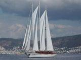Яхта в Бодруме, Турция