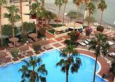 Бассейн у гостиницы в Эйлате