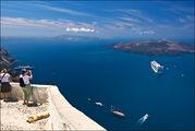 Пейзажи вокруг острова Санторин, Греция