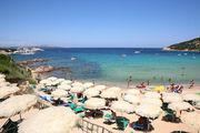 Пляж на Сардинии, Италия