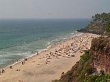 Пляж в Варкале, Индия