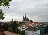 Панорама города Брно, Чехия