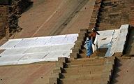 Сушка белья / Фото из Индии