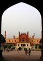 Входное здание. Мечеть Бадшани / Фото из Пакистана