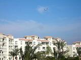 На террасе отеля Дана Бич / Фото из Египта