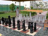 Карманные шахматы из дерева / Фото из Египта