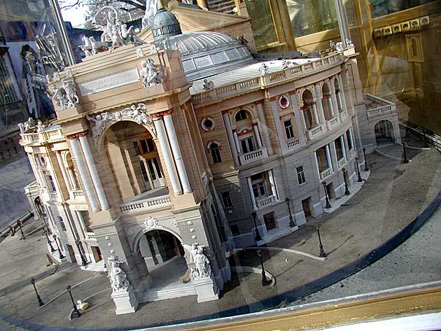 Макет оперного театра
