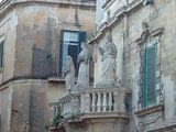 Фрагмент фасада. Кафедральный собор / Фото из Италии