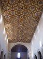 Потолок храма в его алтарной части / Фото из Италии