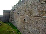 Одна из стен Замка Отранто / Фото из Италии