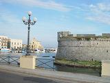Вид на стены Анжуйского Замка / Фото из Италии