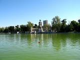 Вид на водоём Центрального парка / Фото из Испании