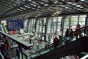 Люцерн. В зале железнодорожного вокзала / Германия