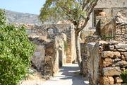 Мусульманский квартал крепости Спиналонга / Фото из Греции
