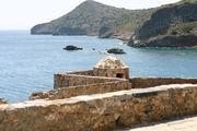 Северный форт и остров Колокита / Фото из Греции