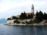 Монастырь на одном из островов / Фото из Хорватии